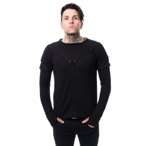 VIXXSIN - MARCEL TOP MENS BLACK |c|