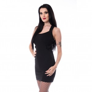 HEARTLESS - Meeri Dress Ladies Black *NEW IN-a*