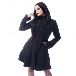 POIZEN - Melina Coat Ladies Black *a1
