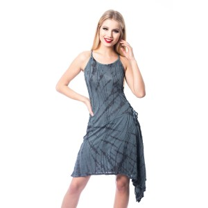 INNOCENT LIFESTYLE - MIANA DRESS LADIES BLACK/GREY