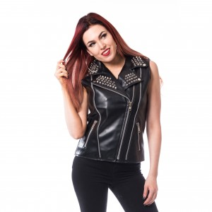 HEARTLESS - Mira Vest Ladies Black *NEW IN-a*