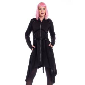 POIZEN - Mistrust Hood Ladies Black *NEW IN*