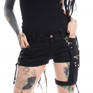 VIXXSIN - NAOKO SHORTS LADIES BLACK