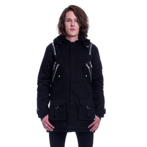 POIZEN - Nash Parka Mens Black *NEW IN*