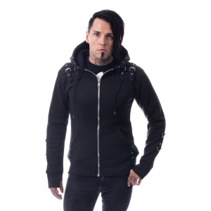 CHEMICAL BLACK - Nico Hood Mens Black *a1