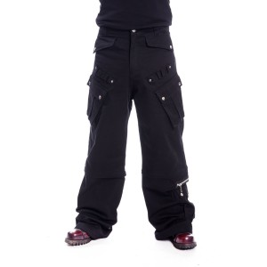 CHEMICAL BLACK - Nixon Pants Mens Black *NEW IN*