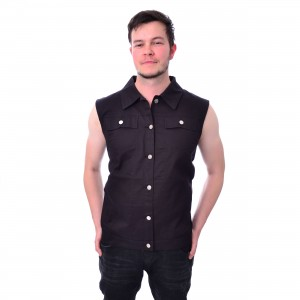 HEARTLESS - OMEN VEST MENS BLACK |c|