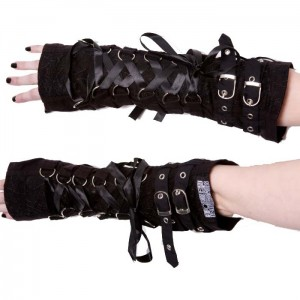 POIZEN INDUSTRIES - ORCHID ARMWARMERS LADIES BLACK
