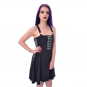 HEARTLESS - PENTACRAFT DRESS LADIES BLACK |b|
