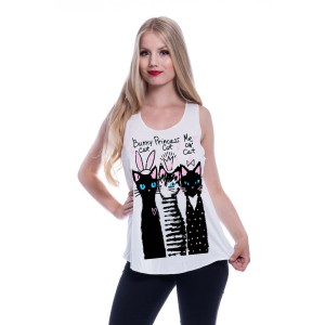 INNOCENT LIFESTY - Pick Me Vest Ladies White *NEW IN-a*