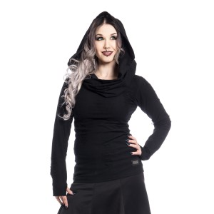 VIXXSIN - PURITY TOP LADIES BLACK