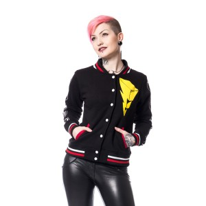 POWER RANGERS - RANGER VARSITY JACKET LADIES BLACK
