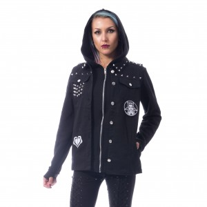 HEARTLESS - Rebel Wednesday Jacket Ladies Black *a1