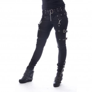 HEARTLESS - Restriction Pants Ladies Black *a1