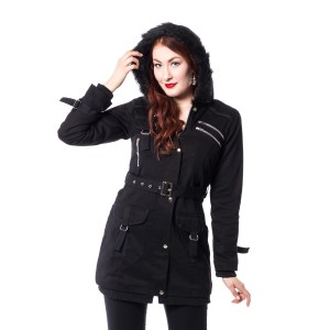 VIXXSIN - RIZE JACKET LADIES BLACK