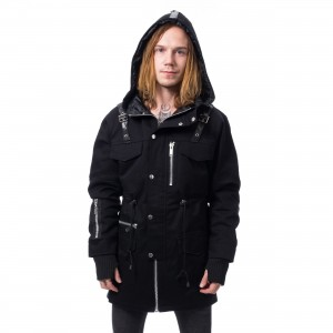 HEARTLESS - ROMAN JACKET MENS BLACK |c|