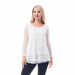 INNOCENT LIFESTYLE - Rosalind Top Ladies White *a1