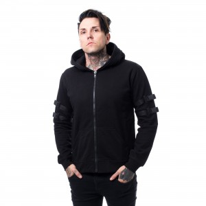 CHEMICAL BLACK - RYKER HOOD MENS BLACK |c|