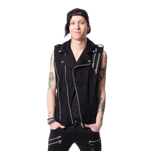 VIXXSIN - RYO VEST MENS BLACK