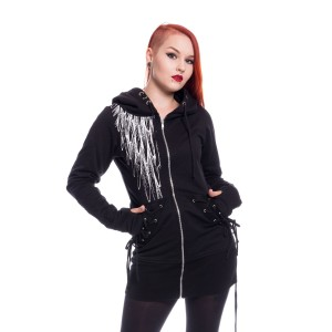 VIXXSIN - Shadow Angel Hood Ladies Black *NEW IN*