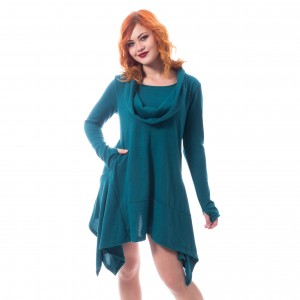 INNOCENT LIFESTYLE - Shasia Dress Ladies Teal *a1