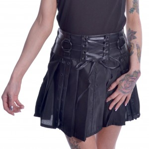 CHEMICAL BLACK - Siiri Skirt Ladies Black *NEW IN-a*