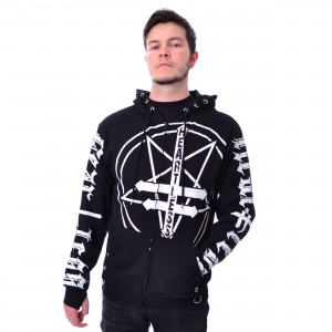 HEARTLESS - SINNERS HOOD MENS BLACK |c|
