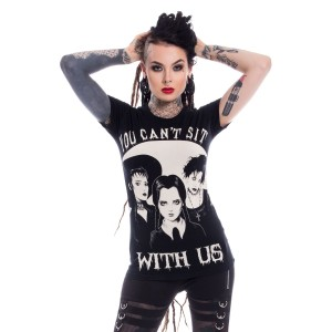 HEARTLESS - Sit With Us T Ladies Black *NEW IN*