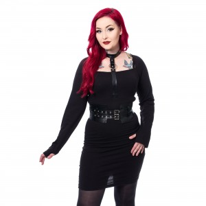 CHEMICAL BLACK - SKYLAR DRESS LADIES BLACK |c|