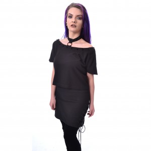 HEARTLESS - TAINT TOP LADIES BLACK |b|a