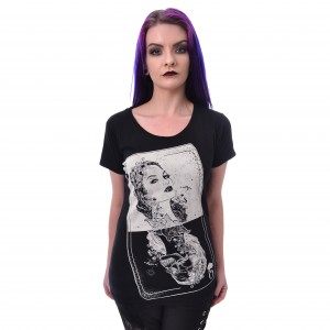 HEARTLESS - TAROT T LADIES BLACK |b|a