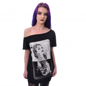 HEARTLESS - TAROT TOP LADIES BLACK