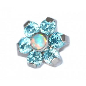 "BODY JEWELLERY - The Halo Collection ""Forget Me Not"" Flower Attachment"