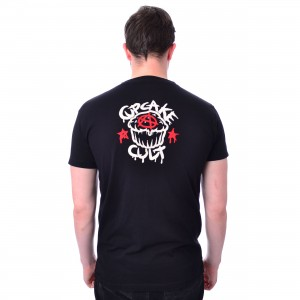 CUPCAKE CULT - THIS IS MY HAPPY PLACE T MENS BLACK |b|