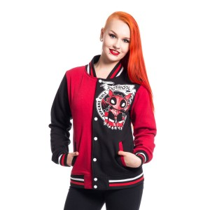 CUPCAKE CULT - TOOTHPOOL VARSITY JACKET LADIES BLACK