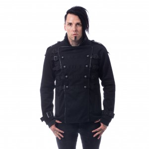 CHEMICAL BLACK - Trax Jacket Mens Black *a1