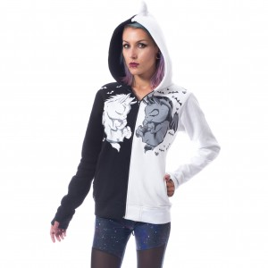 CUPCAKE CULT - Unicorn Dream Hood Ladies Black *a1