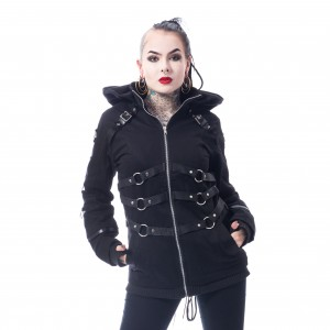 CHEMICAL BLACK - Vivien Jacket Ladies Black *a1