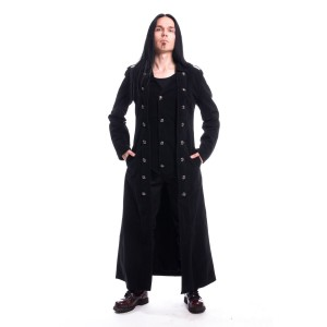 VIXXSIN - Walker Coat Mens Black *NEW IN*