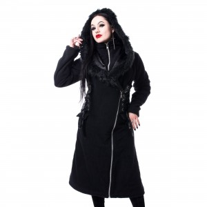 VIXXSIN - WILLOW COAT LADIES BLACK |c|