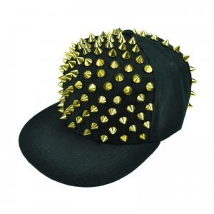 CUPCAKE CULT - X SPIKE CAP LADIES BLACK/GOLD