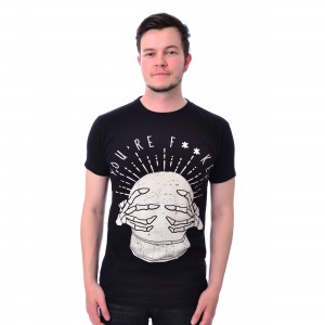 HEARTLESS - YOUR DAY T MENS BLACK |c|